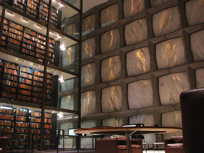 Beinecke-Rare-Book-Manuscript-Library-CT